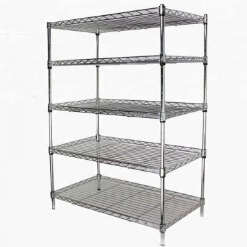 Giantmay Commercial Journal Retail Display Library Wire Metal Magazine Shelf